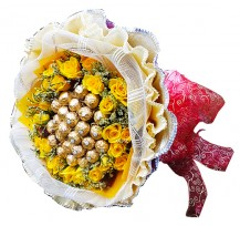 G-Ray-Florist-Online-Flower-Delivery-Kl-Penang-Valentine's Ferrero Wonders