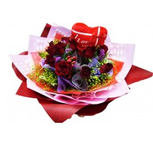 G-Ray-Florist-Online-Flower-Delivery-Kl-Penang-Valentine's Love bouquet