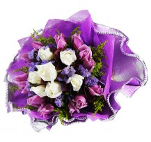 G-Ray-Florist-Online-Flower-Delivery-Kl-Penang-Valentine's Shades of Purple