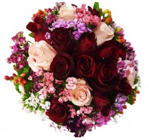 G-Ray-Florist-Online-Flower-Delivery-Kl-Penang-Dazzling Roses Bridal Bouquet