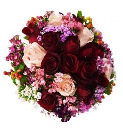 Dazzling Roses Bridal Bouquet