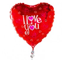 G-Ray-Florist-Online-Flower-Delivery-Kl-Penang-I Love You Balloon