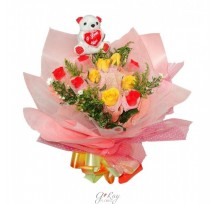G-Ray-Florist-Online-Flower-Delivery-Kl-Penang-Two Parts of My Heart