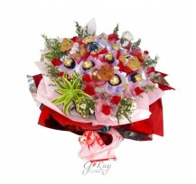 G-Ray-Florist-Online-Flower-Delivery-Kl-Penang-Bear And Chockies