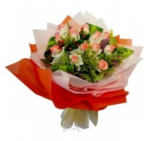 G-Ray-Florist-Online-Flower-Delivery-Kl-Penang-Valentine's Peaches For Me