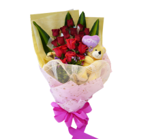 G-Ray-Florist-Online-Flower-Delivery-Kl-Penang-Valentine's Bear-isistable