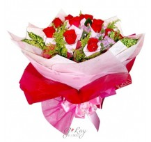 G-Ray-Florist-Online-Flower-Delivery-Kl-Penang-Ring of Roses
